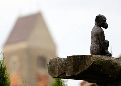 Antik-Hof Harzenetter Affenfigur